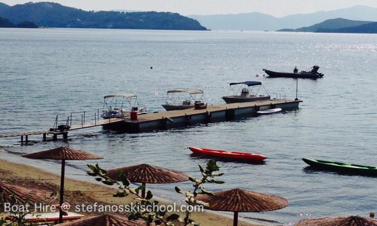 skiathos boat hire @ Stefanosskischool.com